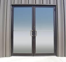 metal glass doors glass storefront doors global building products