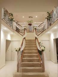 home stairs decoration elegant staircase decoration memorable weddings pinterest