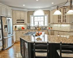 antique white kitchen ideas awesome antique white glazed kitchen cabinets magnificent kitchen