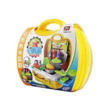kinder spiel k che täuschen spiel küche spielzeug für kinder pretend spielzeug koffer