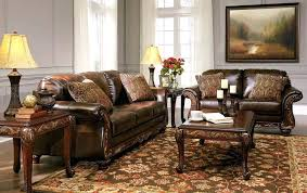 brown collection leather living room furniture for sale chateau dax salerno brown