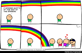 Rainbow Meme - littlefun what s at the end of the rainbow