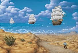 these mind bending optical illusion paintings will force you to question reality