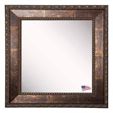 bronze mirror for bathroom bathroom vanity bronze mirrors you ll love wayfair