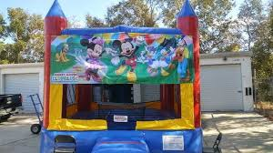 mickey mouse clubhouse bounce house bounce play llc deltona fl mickey mouse clubhouse modular