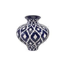 White Tall Vases Blue U0026 White Tall Ceramic Vase