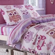 owl bedding single duvet from the woolly owl range