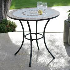 home design fancy small mosaic patio table side home design