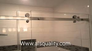 basco shower door reviews serenity custom frameless sliding shower door enclosure crl youtube