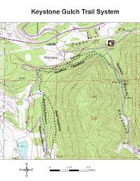 Colorado Mountain Map by Oric Colorado Summit County Region Day Hiking Trails Index Page