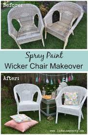 Can You Paint Wicker Chairs Wicker Chair Painted In Annie Sloan Country Grey Jay James