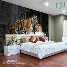 wall murals wall tapestries canvas wall art wall decor tagged tigers wall mural wild tiger self adhesive peel stick photo mural african tigers wallpapers