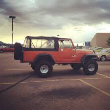 jeep scrambler hardtop pretty clean cj6 scrambler i saw today in payson az jeep