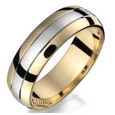 two tone wedding bands two tone wedding rings wedding bands mike s wedding ring