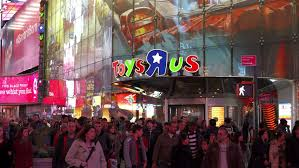 Thanksgiving November 26 New York Ny November 26 Toys R Us In Downtown City During