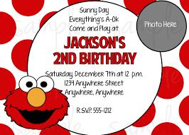 Free Birthday Card Invitation Templates Elmo Birthday Invitations U2013 Gangcraft Net