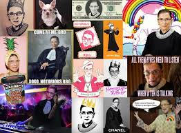 Collage Memes - how justice ruth bader ginsburg became the supreme meme queen in