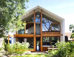 high efficiency home plans gabled roof inhabitat green design innovation architecture