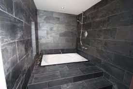 Black Slate Bathrooms Slate Bathroom Tilersforums Co Uk Professional Wall And Floor