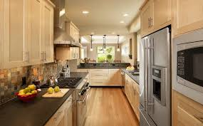 Natural Maple Kitchen Cabinets Detroit Natural Maple Kitchen Cabinets Contemporary With Dining