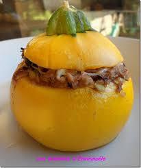 cuisiner la courgette jaune courgettes jaunes et rondes totalement farcies au risotto les