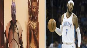 photos carmelo anthony dressed as u0027game of thrones u0027 the night