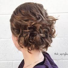 short hair layered and curls up in back what to do with the sides 60 updos for short hair your creative short hair inspiration