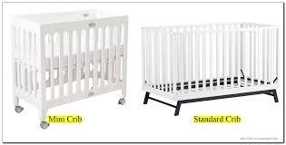 Crib Vs Mini Crib Useful Mini Crib Vs Standard Crib 0 With Additional Home Remodel