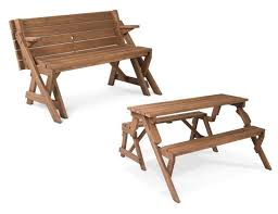 folding picnic table bench plans folding picnic table for the