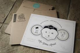printed wedding invitations 20 smashing exles of customized printed wedding invitations