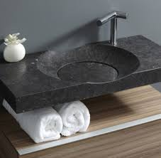 stylish modern round sink with no drain digsdigs