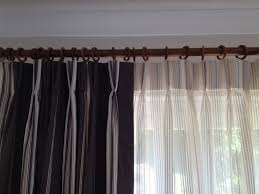 How To Fit Pencil Pleat Curtains Coffee Tables Hanging Rod Pocket Curtains On Traverse Rod How To