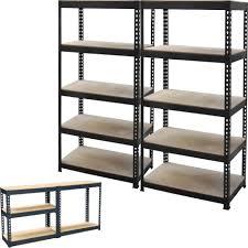 Ikea Garage Shelving by Backyards Heavy Duty Metal Garage Shelves Storage Photo