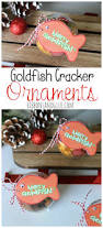 goldfish cracker christmas ornaments