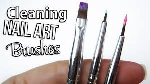 clean your nail art brushes perfectly nails u0026 toes designs to