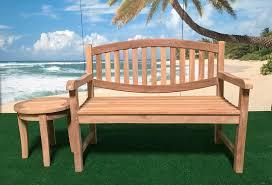 Learn Bench Bali Teak Furniture Portland Outdoor Patio Teak Benches