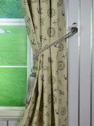 eos nautical printed faux linen grommet curtain anquite linen
