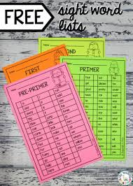 sight words list sight words list word games and sight words