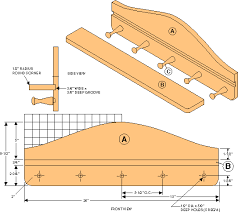 Free Shelf Woodworking Plans by Free Mug Holder Shelf Woodworking Plans From Shopsmith