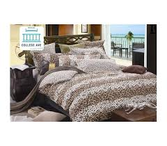 Cheetah Twin Comforter Leopard Love Twin Xl Comforter Set College Ave Designer Series