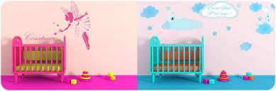 stickers chambre b b personnalis stickers bébé personnalisés avec texte prénom pour chambre enfant
