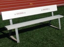 Portable Sports Bench Soccer Benches Progressive