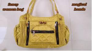 fancy handbag for women make at home diy youtube