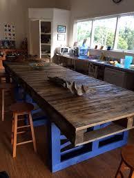 table de cuisine en palette table haute palette excellent a modern minimal tablescape styled