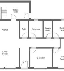 House Floor Plan Measurements House Floor Plan With Measurements Professional Accurate Square