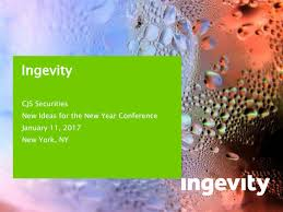ingevity corporation ngvt presents at cjs securities new ideas