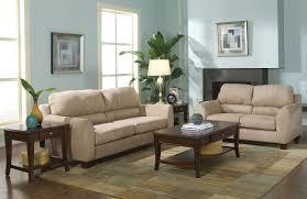 Microfiber Living Room Set Sage Microfiber Modern Living Room W Super Soft Pub Back Pillows