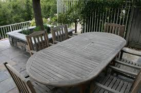 Teak Patio Chairs Weathered Teak Patio Furniture Ideas The Home Redesign