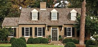 shutter colors for tan brick house exterior paint colors