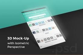 20 best website psd perspective mockups design shack